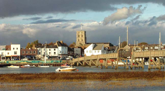 Shoreham from the south (Photograph by Andy Horton)