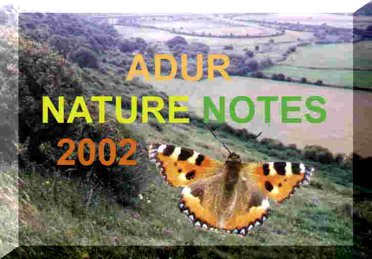 Latest Nature Notes and Index page 2002