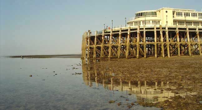 End of Worthing Pier