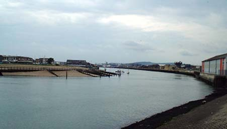 River Adur, Black Goby location in autumn
