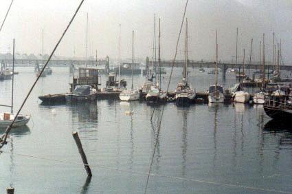 View from the Surry Boatyard