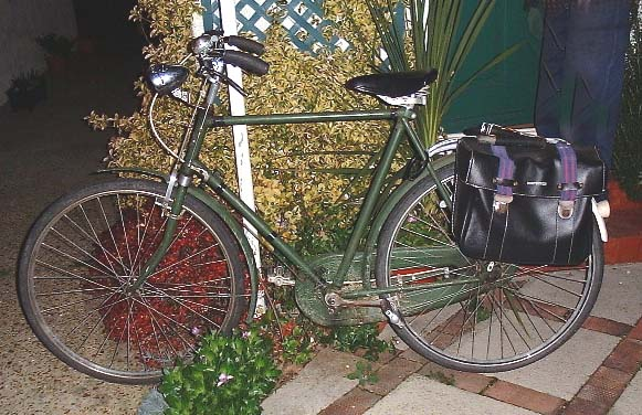 My pre-WWII Hercules Roadster bicycle  (Andy Horton)