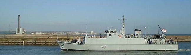 HMS Shoreham (Photograph by Ray Hamblett)