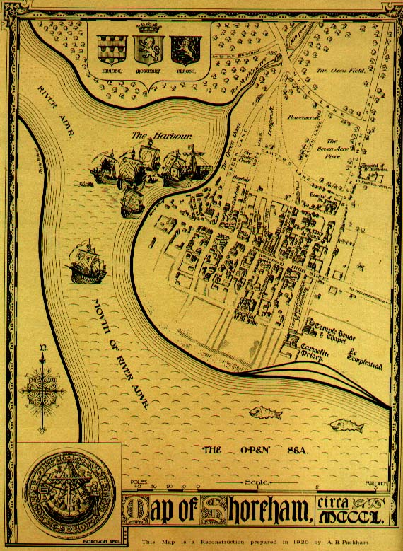 Old Maps Of Hayling Island